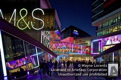 Stock photo of Westfield Stratford City - London, England