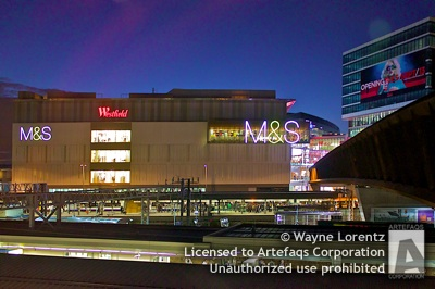 Photograph of Westfield Stratford City - London, England