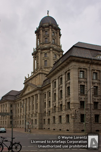 Stock photo of Altes Stadthaus - Berlin, Germany