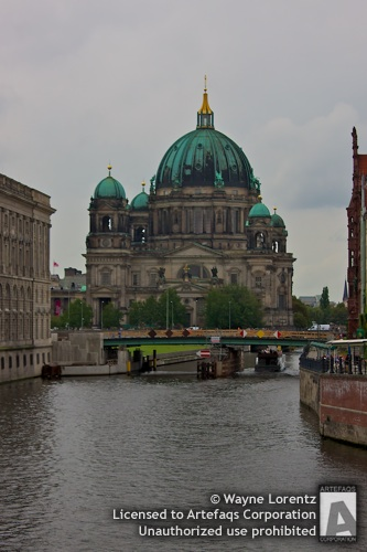 Stock photo of Berlin Cathedral - Berlin, Germany
