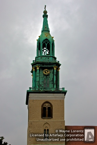 Stock photo of Church of Saint Mary - Berlin, Germany
