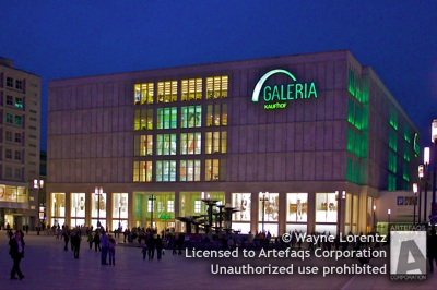 Stock photo of Galeria Kaufhof - Berlin, Germany