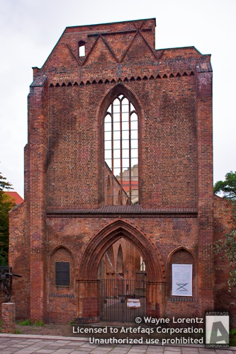 Photograph of Ruins of the Franciscan Monastery - Berlin, Germany