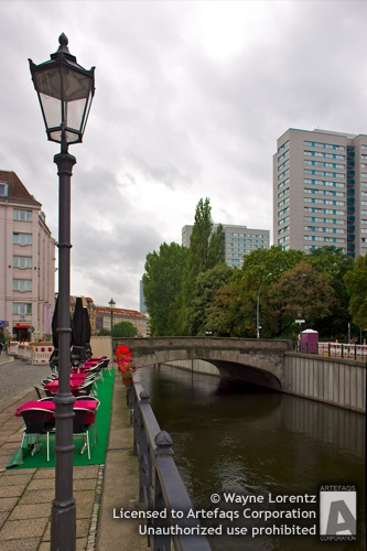 Photograph of Spree canal - Berlin, Germany
