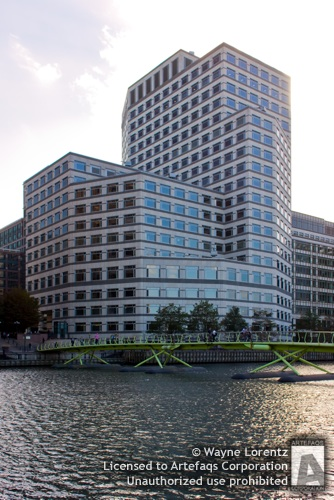 Stock photo of 1 Cabot Square - London, England