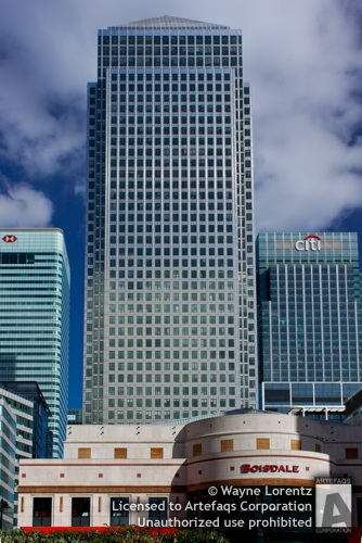 Stock photo of 1 Canada Square - London, England