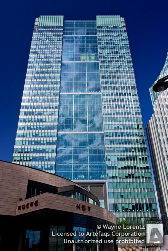 Photograph of 1 Churchill Place - London, England