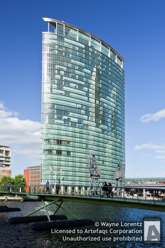 Stock photo of 1 West India Quay - London, England