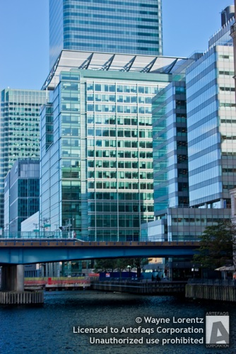 Photograph of 5 Canada Square - London, England