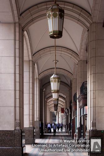 Stock photo of 5 The North Colonnade - London, England