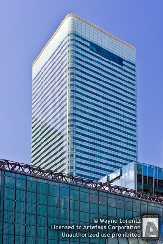 Stock photo of 8 Canada Square - London, England