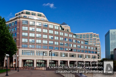 Stock photo of 25 Cabot Square - London, England