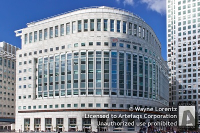 Stock photo of 30 South Colonnade - London, England