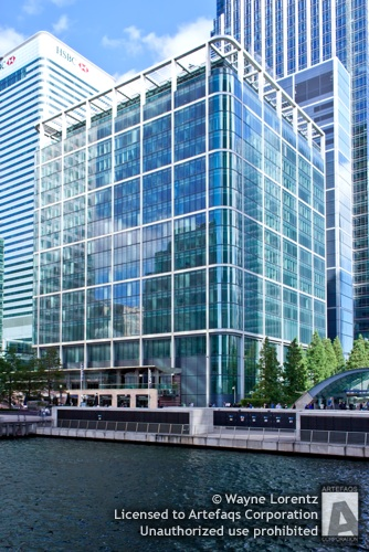 Stock photo of 33 Canada Square - London, England