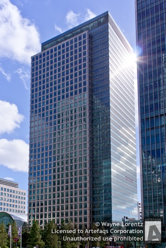 Stock photo of 40 Bank Street - London, England