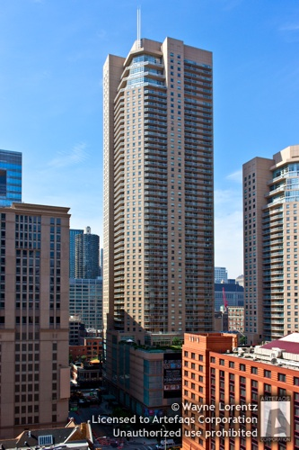 Stock photo of Grand Plaza East Tower - Chicago, Illinois