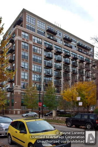 Stock photo of 221 East Cullerton - Chicago, Illinois