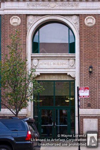 Stock photo of Atwell Building, Chicago, Illinois