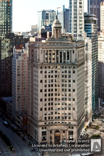 Stock photo of London Guarantee and Accident Bulding - Chicago, Illinois
