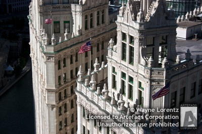Stock photo of Wrigley Building - Chicago, Illinois