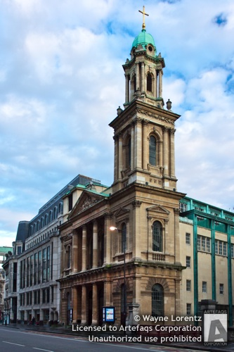Stock photo of City Temple - London, England - London, England