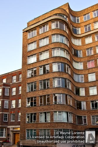 Stock photo of Florin Court - London, England - London, England