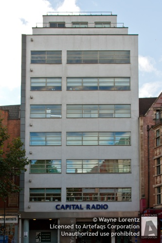 Stock photo of GCap Media Building - London, England