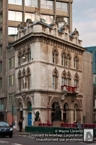Stock photo of Holborn Viaduct - London, England