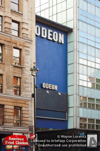Photograph of Odeon Cinema West End - London, England