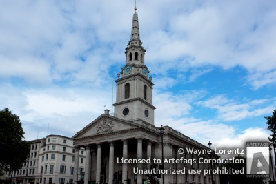Photograph of Saint Martin in the Fields - London, England