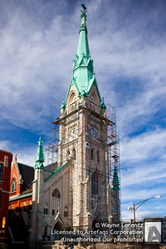 Stock photo of Saint Alphonsus Catholic Church - Chicago, Illinois