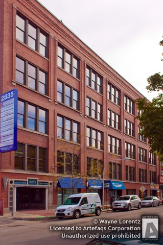Stock photo of Sheffield Square Professional Centre - Chicago, Illinois