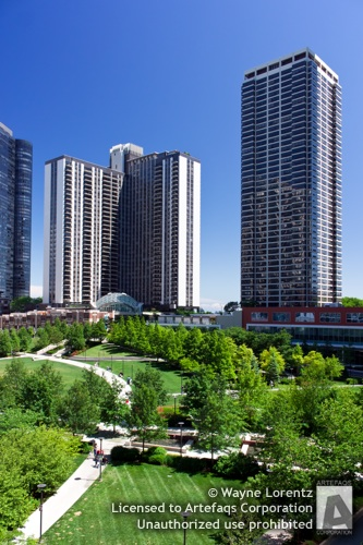 Photograph of Lakeshore East - Chicago, Illinois