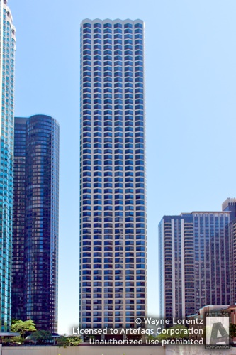 Stock photo of North Harbor Tower - Chicago, Illinois
