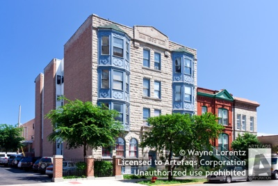 Stock photo of 225 South Racine, Chicago, Illinois