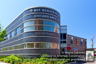 Stock photo of Boy Scouts of America Steve Fossett Center - Chicago, Illinois