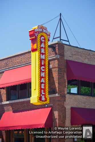 Stock photo of Carmichaels Steak House, Chicago, Illinois