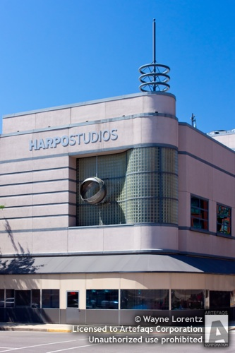 Stock photo of Harpo Studios - Chicago, Illinois