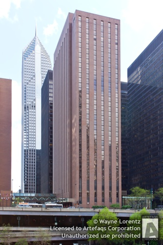 Photograph of Hyatt Regency Chicago West Tower - Chicago, Illinois -