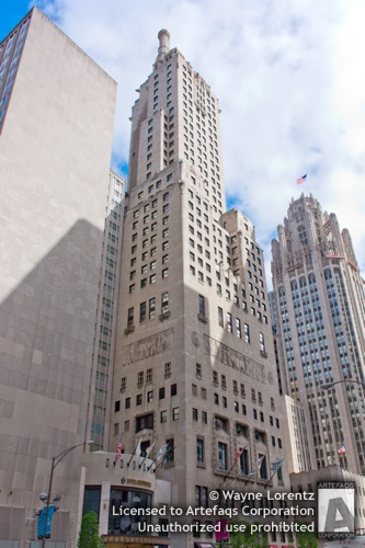 Stock photo of Intercontinental Hotel - Chicago, Illinois -