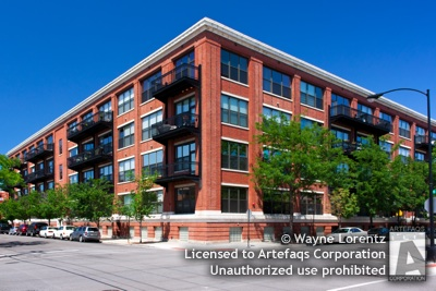Photograph of Number Ten Lofts - Chicago, Illinois