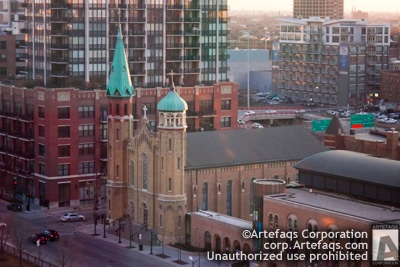 Photograph of Old Saint Patricks Church - Chicago, Illinois -