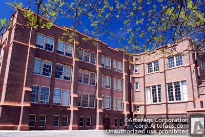 Photograph of Pullman Elementary School - Chicago, Illinois -