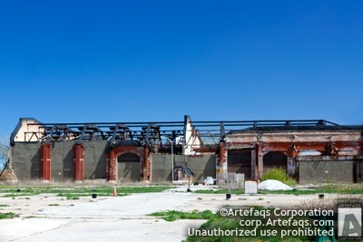 Stock photo of Pullman factory - Chicago, Illinois -