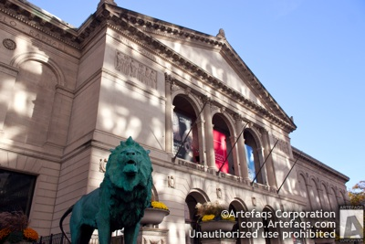 Stock photo of Art Institute of Chicago - Chicago, Illinois