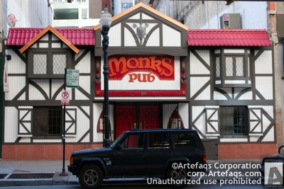 Photograph of Monks Pub - Chicago, Illinois