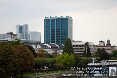 Stock photo of Bürohochhaus Schweizer National - Frankfurt, Germany
