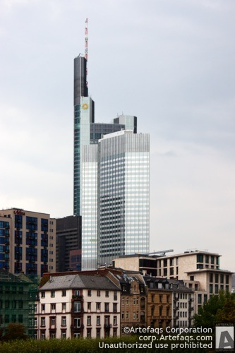 Stock photo of Commerzvbank Tower - Frankfurt, Germany