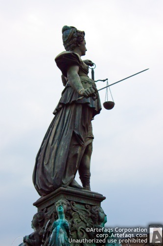 Photograph of Fountain of Justice - Frankfurt, Germany