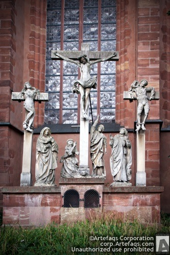 Photograph of Frankfurt Cathedral - Frankfurt, Germany